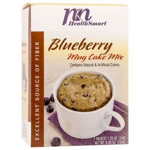 HealthSmart Mug Cake - Blueberry - 7/Box-Nashua Nutrition