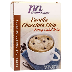 HealthSmart Mug Cake - Vanilla Chocolate Chip - 7/Box-Nashua Nutrition