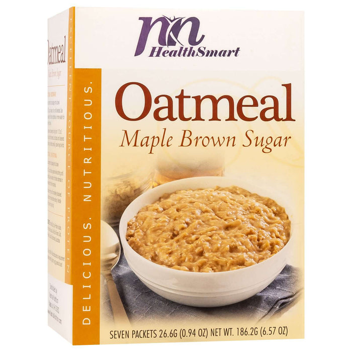 HealthSmart Oatmeal - Maple Brown Sugar - 7/Box
