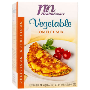 HealthSmart Omelet - Vegetable - 7/Box - Nashua Nutrition