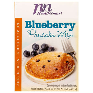 HealthSmart Pancakes - Blueberry - 7/Box-Nashua Nutrition