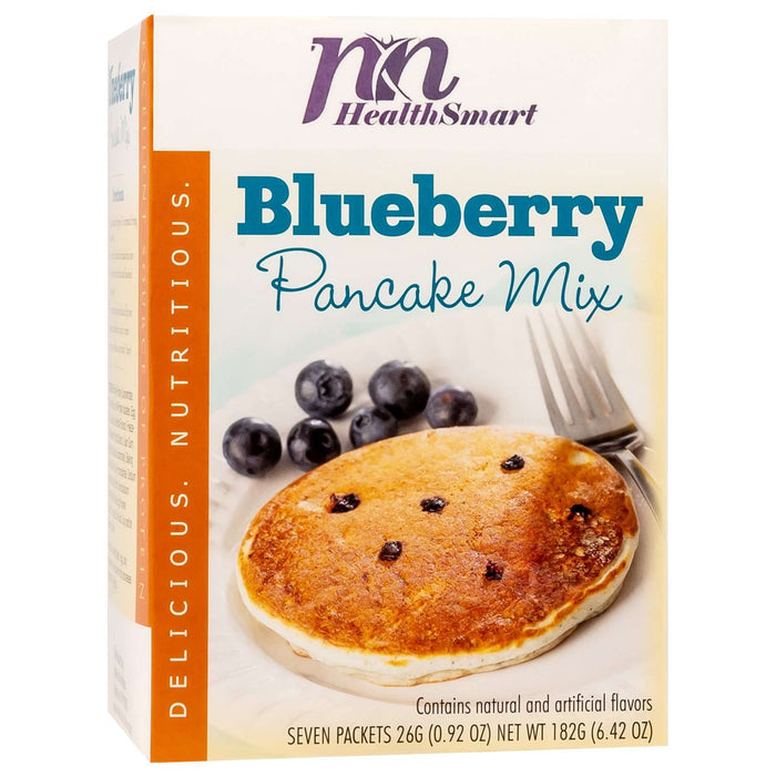 HealthSmart Pancakes - Blueberry - 7/Box
