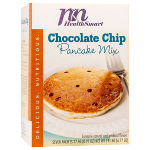 HealthSmart Pancakes - Chocolate Chip - 7/Box-Nashua Nutrition