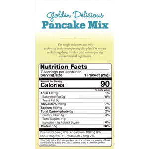 HealthSmart Pancakes - Golden Delicious - 7/Box - Nashua Nutrition
