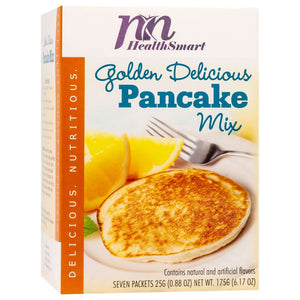HealthSmart Pancakes - Golden Delicious - 7/Box-Nashua Nutrition