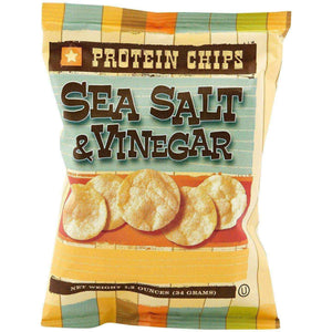HealthSmart Protein Chips - Sea Salt & Vinegar - 1 Bag-Nashua Nutrition