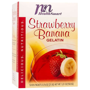 HealthSmart Gelatin - Strawberry Banana - 7/Box-Nashua Nutrition