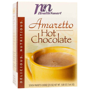HealthSmart Protein Hot Chocolate - Amaretto, 7 Servings/Box - Nashua Nutrition