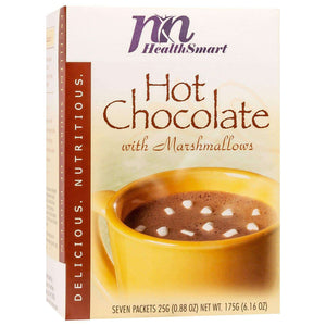 HealthSmart Protein Hot Chocolate - With Marshmallows, 7 Servings/Box - Nashua Nutrition