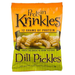 HealthSmart Protein Krinkles - Dill Pickles - 1 Bag-Nashua Nutrition