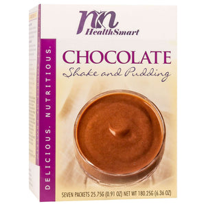 HealthSmart Pudding & Shake - Chocolate - 7/Box-Nashua Nutrition