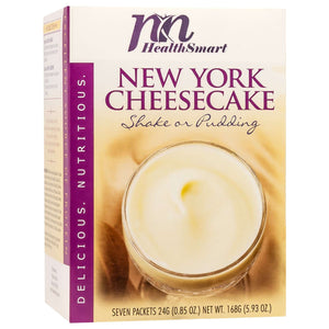 HealthSmart Pudding & Shake - New York Cheesecake - 7/Box - Nashua Nutrition