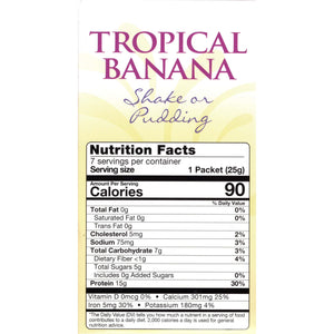 HealthSmart Pudding & Shake - Tropical Banana - 7/Box-Nashua Nutrition