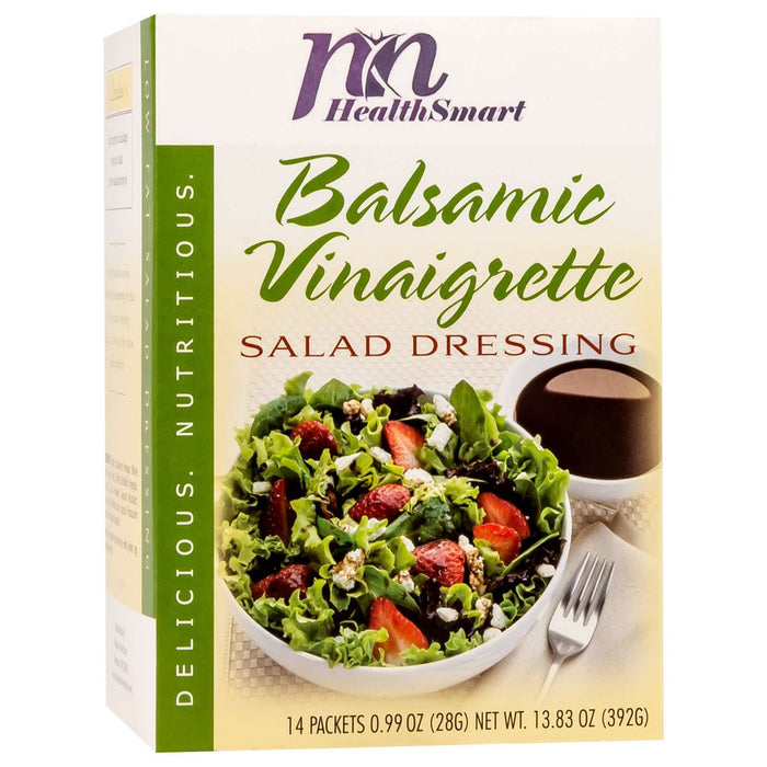 HealthSmart Salad Dressing - Balsamic Vinaigrette - 14/Box