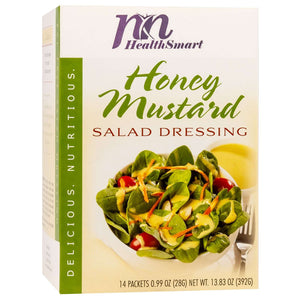 HealthSmart Salad Dressing - Honey Mustard - 14/Box-Nashua Nutrition