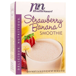 HealthSmart Smoothie - Strawberry Banana - 7/Box-Nashua Nutrition