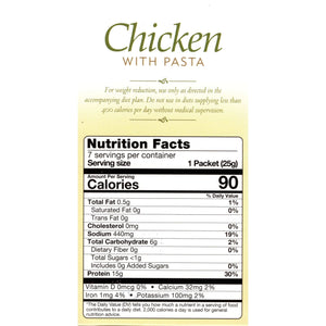 HealthSmart Soup - Chicken with Pasta - 7/Box-Nashua Nutrition
