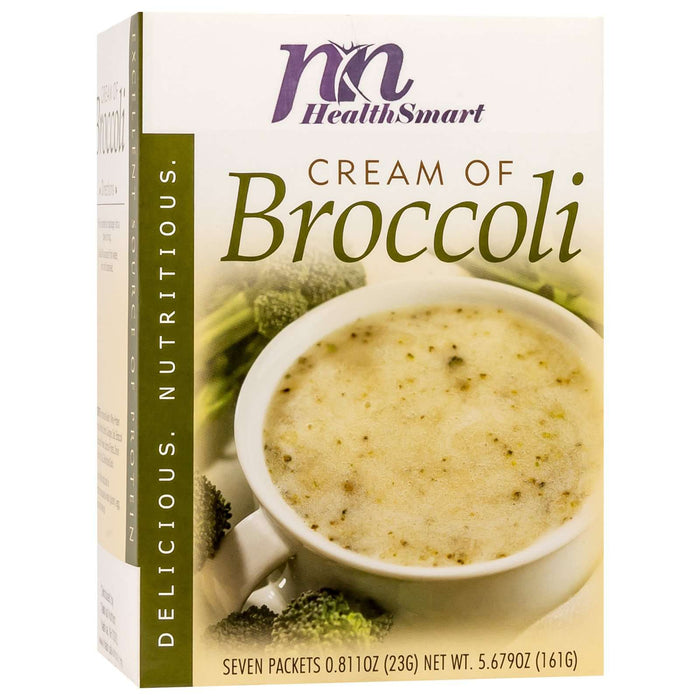 HealthSmart Soup - Cream of Broccoli - 7/Box
