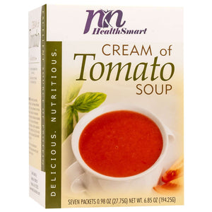 HealthSmart Soup - Cream of Tomato - 7/Box - Nashua Nutrition