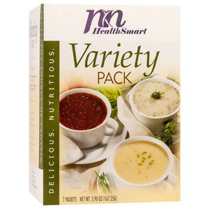 HealthSmart Soup - Variety Pack - 7/Box-Nashua Nutrition