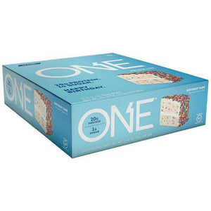 ISS Research - Oh Yeah One Bar - Birthday Cake (1 Bar or 12/Box)-Nashua Nutrition