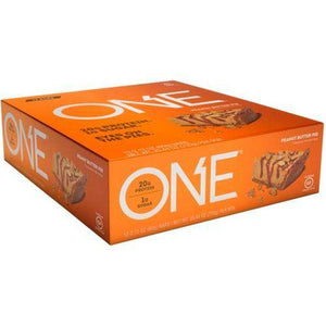 ISS Research - Oh Yeah One Bar - Peanut Butter Pie (1 Bar or 12/Box) - Nashua Nutrition