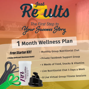 Just ReZults 1 Month Fitness & Nutrition Package-Nashua Nutrition