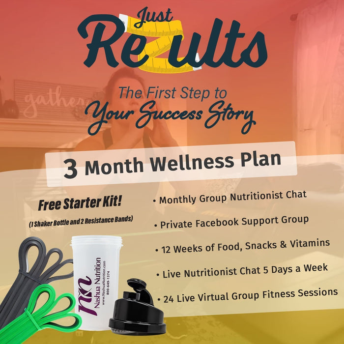 Just ReZults 3 Month Fitness & Nutrition Package