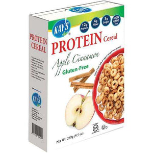 Kay's Naturals - Protein Cereal - Apple Cinnamon - 9.5 oz Box - Nashua Nutrition