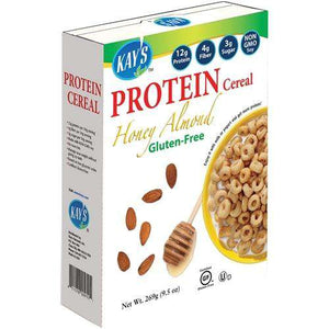 Kay's Naturals - Protein Cereal - Honey Almond - 9.5 oz Box-Nashua Nutrition