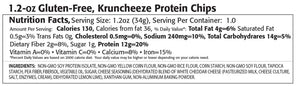 Kay's Naturals - Protein Kruncheeze Chips - White Cheddar Cheese (1 Bag) - Nashua Nutrition