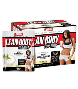 Labrada Nutrition - Lean Body For Her Meal Replacement - Vanilla (20/Box)-Nashua Nutrition