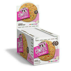 Lenny & Larry's - The Complete Cookie - Birthday Cake - 1 Cookie or 12/Box - Nashua Nutrition