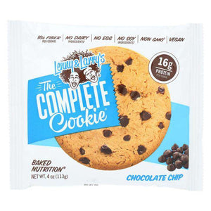 Lenny & Larry's - The Complete Cookie - Chocolate Chip - 1 Cookie or 12/Box-Nashua Nutrition