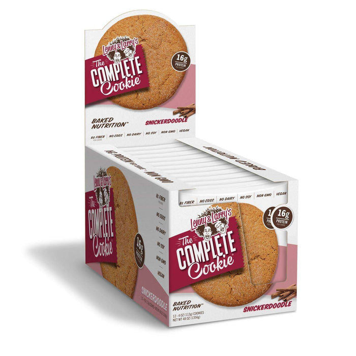 Lenny & Larry's - The Complete Cookie - Snickerdoodle - 1 Cookie or 12/Box
