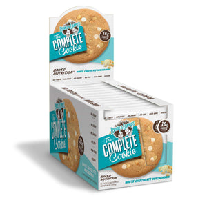 Lenny & Larry's - The Complete Cookie - White Chocolaty Macadamia - 1 Cookie or 12/Box-Nashua Nutrition