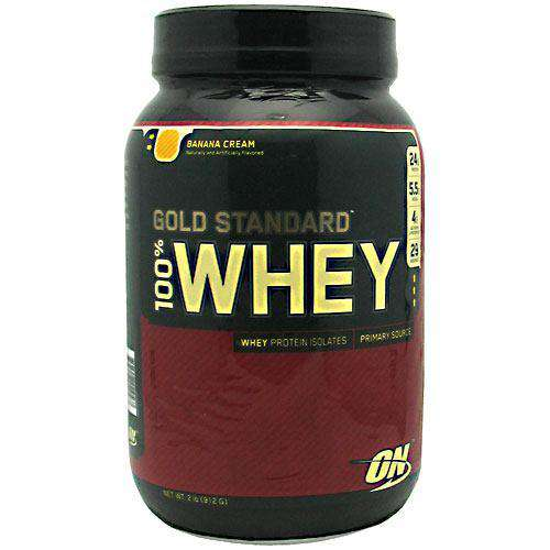 Optimum Nutrition - 100% Whey - Banana Cream (2lb Jug)