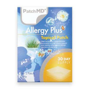 PatchMD - Allergy Plus Topical Patch - (30-Day Supply)-Nashua Nutrition