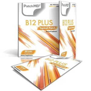 PatchMD - B12 Energy Plus Topical Patch (30-Day Supply)-Nashua Nutrition