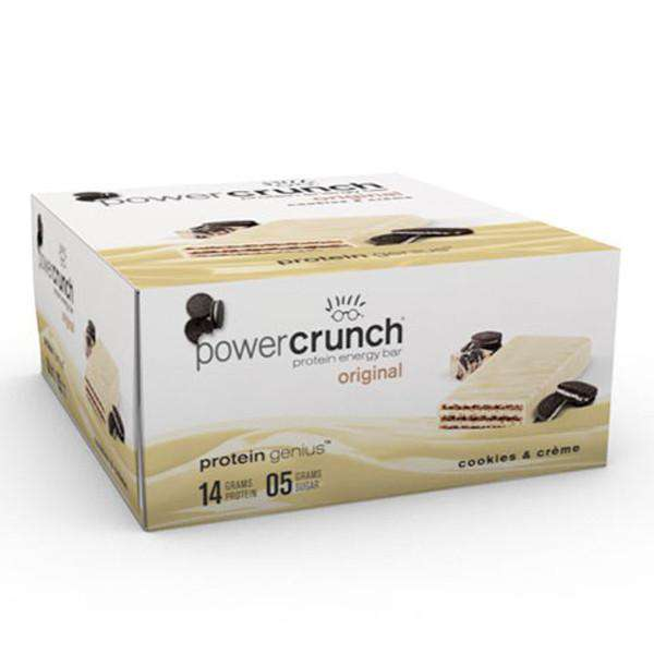 Power Crunch - Protein Wafer Bars - Cookies & Creme (1 Bar or 12/Box)