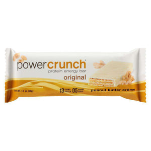 Power Crunch - Protein Wafer Bars - Peanut Butter Creme (1 Bar or 12/Box) - Nashua Nutrition