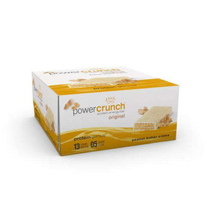 Power Crunch - Protein Wafer Bars - Peanut Butter Creme (1 Bar or 12/Box)-Nashua Nutrition