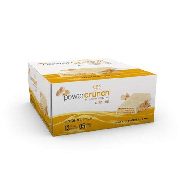 Power Crunch - Protein Wafer Bars - Peanut Butter Creme (1 Bar or 12/Box)