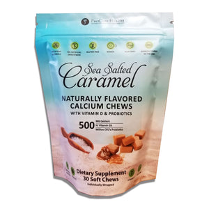 ProCare Health - 500mg Calcium Soft Chews - Sea Salted Caramel - 30 Count-Nashua Nutrition