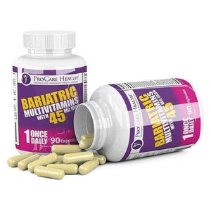 ProCare Health - Bariatric Multivitamin Capsule - 45mg Iron - 1 Once Daily - 90ct Bottle-Nashua Nutrition