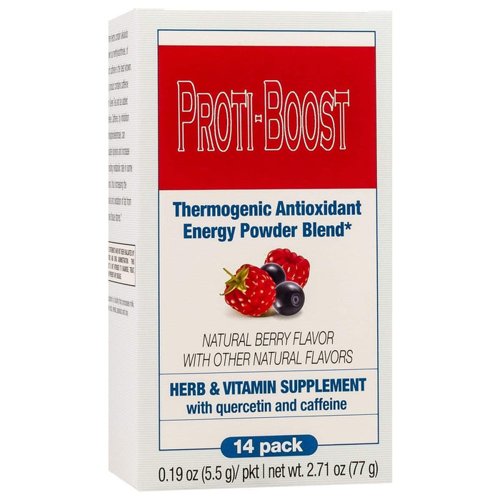 Proti-Boost - Thermogenic - Antioxidant - Energy Drink Mix - Berry - 14/Box