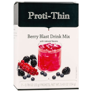 Proti-Thin Fruit Drink - Berry Blast - 7/Box-Nashua Nutrition