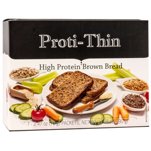 Proti-Thin High Protein Brown Bread (7/Box)-Nashua Nutrition