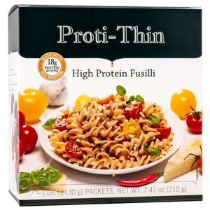 Proti-Thin High Protein Pasta - Fusilli - 7/Box - Nashua Nutrition