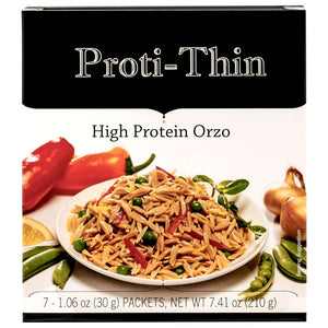 Proti-Thin High Protein Pasta - Orzo - 7/Box-Nashua Nutrition